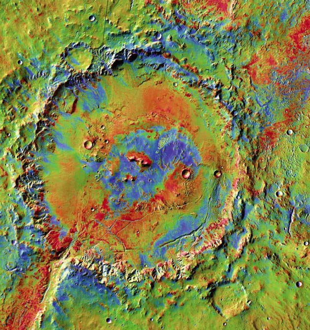 Exploring Mars: A Crater Where Water Ran