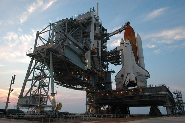 Launch Day: Space Shuttle Discovery Set to Fly