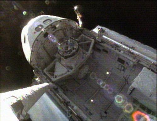 inside space ship docking station - photo #19