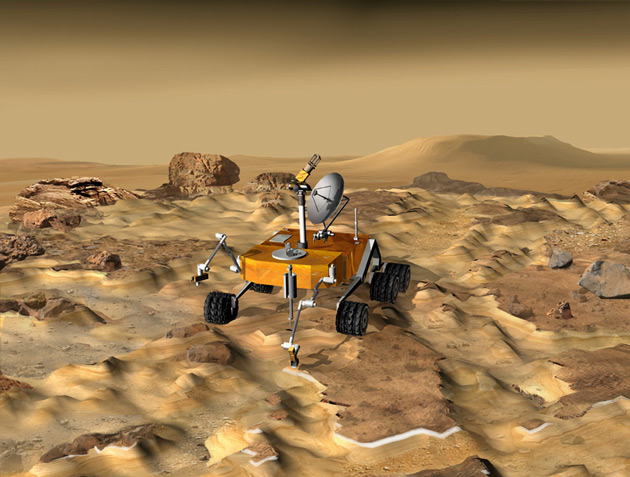 NASA Advised to Revamp Mars Plans