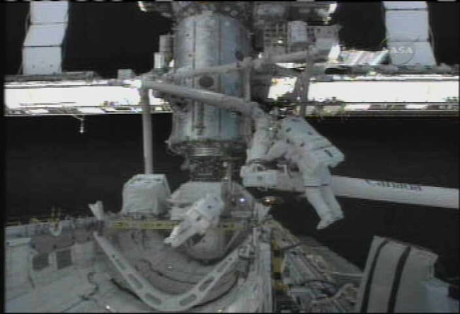 Spacewalkers to Make Critical Space Station Repairs