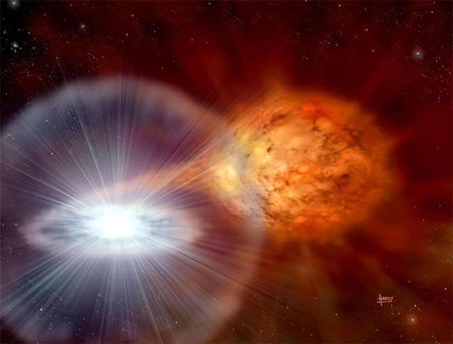 Mystery of Explosive Star Solved