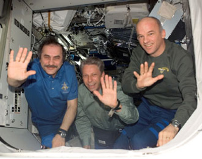 Back at Full Strength, ISS Crew Takes a Break