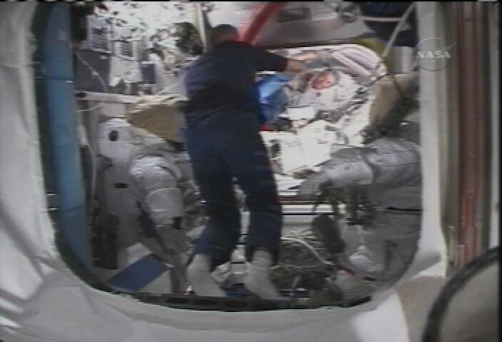 Space Station Astronauts Prepare for Aug. 3 Spacewalk