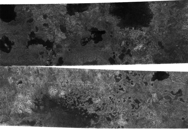 Lakes Found on Saturn's Moon Titan