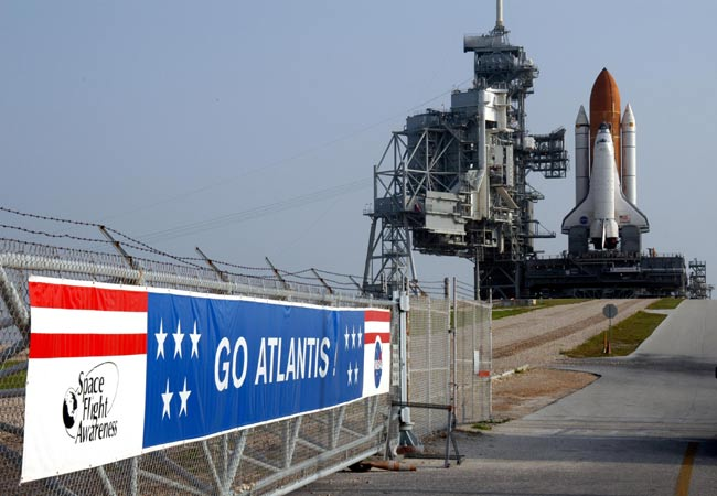 Shuttle Atlantis Set for Thursday Countdown