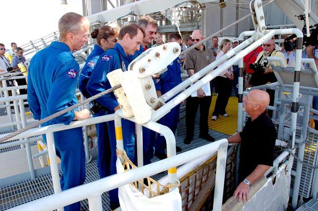 Atlantis Shuttle Crew Ready for Mission, Launch Rehearsal