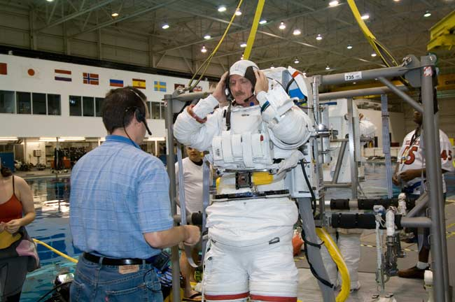 ISS Construction Crew:  Atlantis Shuttle's Spacewalking 'A' Team
