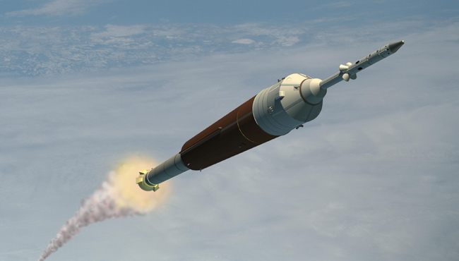 NASA Chief Taps Ares I Rocket Procurement as 2007 Priority