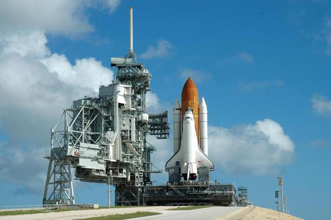 Launch Delayed, Shuttle Atlantis Takes Shelter from Tropical Storm