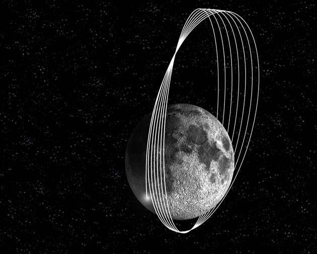 Spacecraft Set to Smack the Moon This Weekend