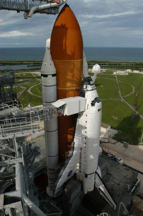 Launch Day Redux: Space Shuttle Atlantis Again Poised for Liftoff