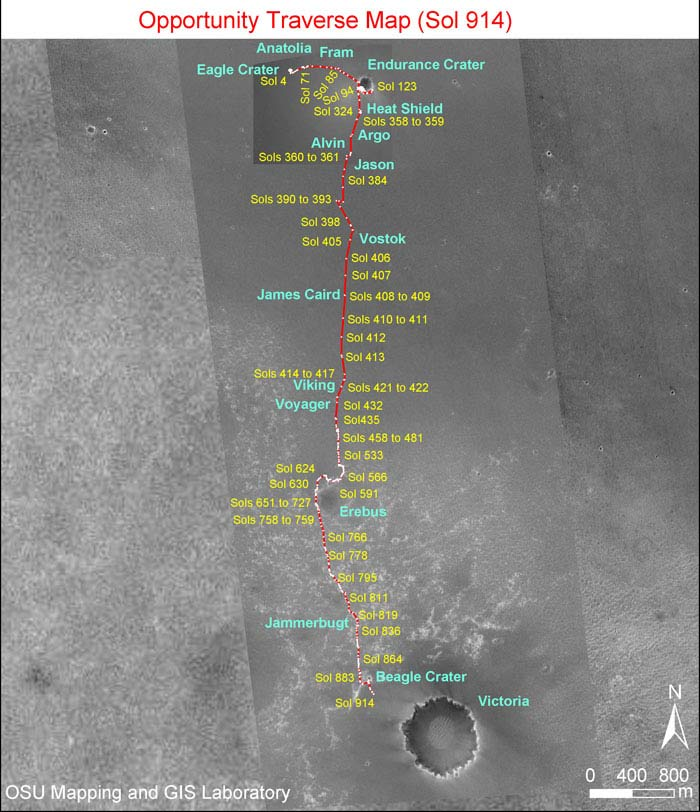 Mars Rover Poised for Run at Victoria Crater