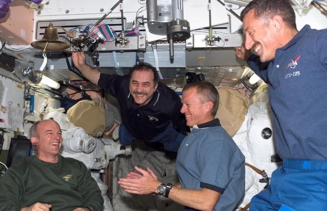 Mission Atlantis: Shuttle Crew Takes a Short Break