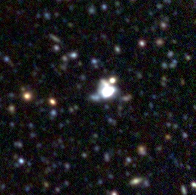 Strange Supernova Defies Theory