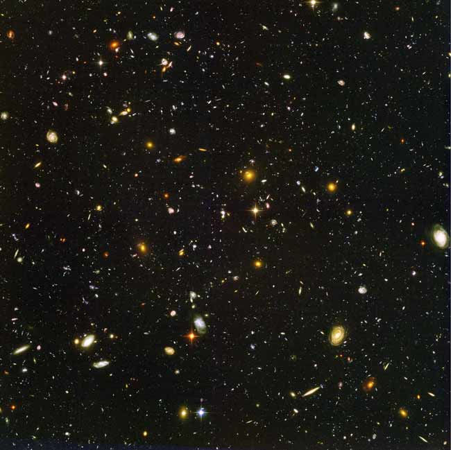 Hubble Spots 500 Galaxies in Early Universe