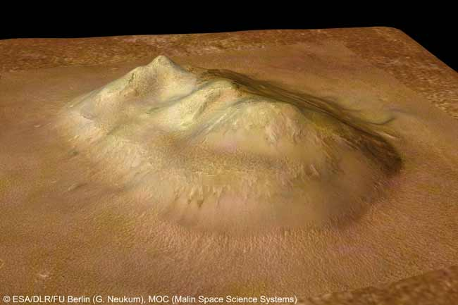 Mars Face Makeover: Controversial Formation Observed from New Angles
