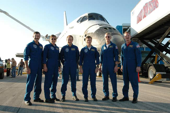 Atlantis Astronauts Happy to be Home After Tough Mission