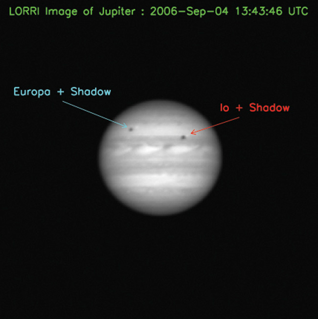 Pluto-bound Probe Snaps Photo of Jupiter