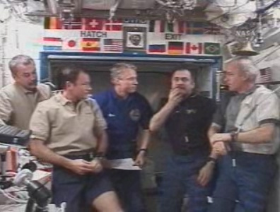 Aboard ISS: Crew Swap Goes Well, Space Tourist Prepares for Return