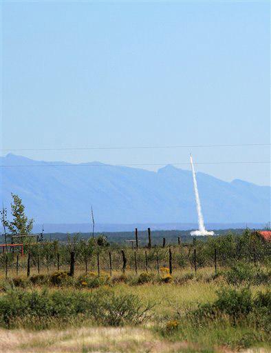 Spaceport America's Inaugural Launch