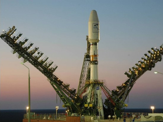 Soyuz 2-1b Rocket Launches Classified Military Payload