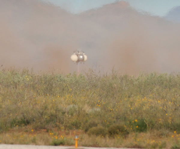 Lunar Lander Rocket Runs Into Touchdown Troubles