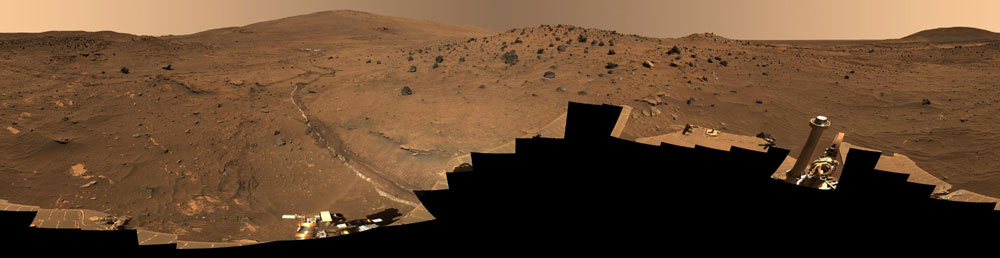 One Long Trip: NASA's Spirit Rover Hits 1,000th Martian Day