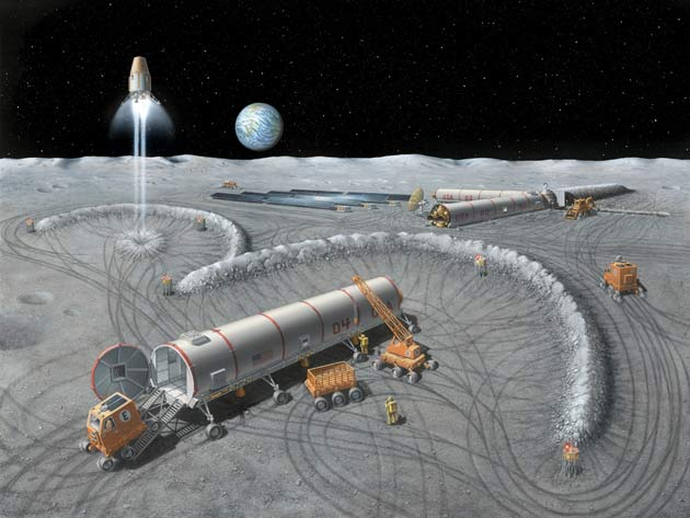Lunar Explorers Face Moon Dust Dilemma