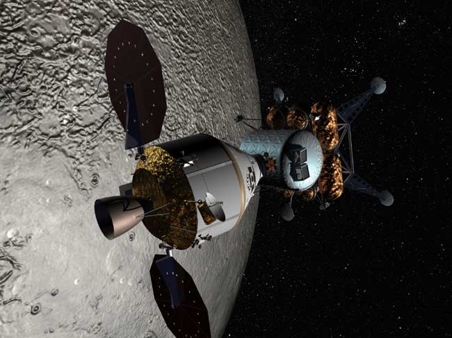 NASA Weighs U.S. Strategy for Moon Exploration