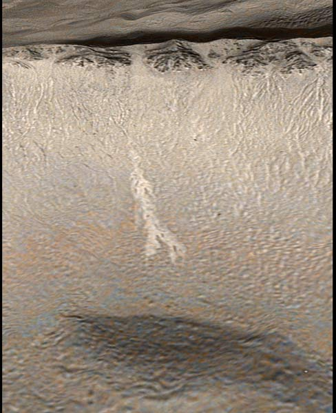 Changing Mars Gullies Hint at Recent Flowing Water