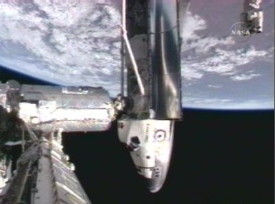 Mission Discovery: Shuttle Astronauts Dock at ISS