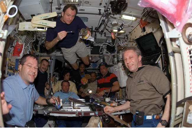 Shuttle Flight 'Fantastic,' Astronauts Say
