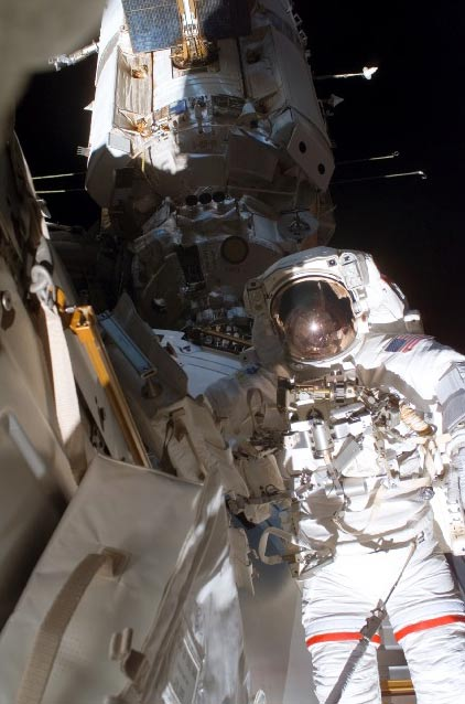 Spacewalkers Set for ISS Rewiring, Solar Array Work