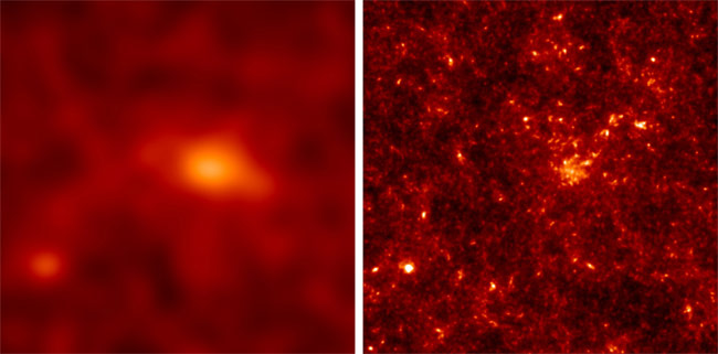 Radio Telescopes Could Make Dark Matter Visible