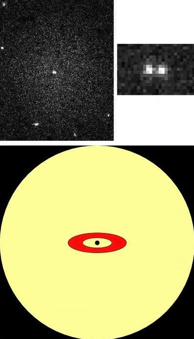 Small Galaxy Packs Massive Black Hole