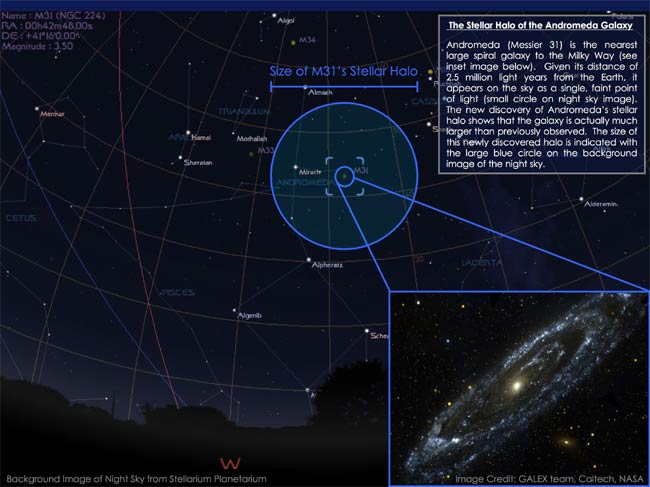 Andromeda Galaxy Five Time Bigger Than Thought