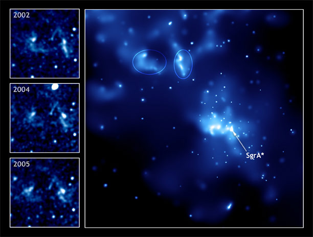 Black Hole Grabs Planet-Sized Snack