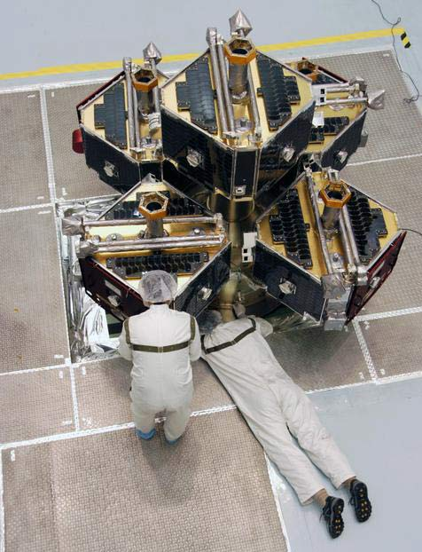 NASA Primes Five Satellites for Stormy Hunt