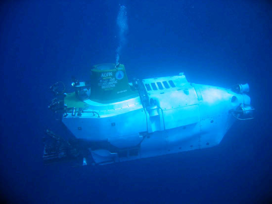 Built as the world's first deep-ocean submersible, Alvin has made more than 4,200 dives and can reach 63 percent of the global ocean floor (reaching depths of 14,764 feet/4,500 meters).