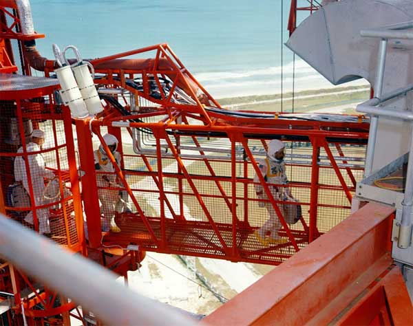 Forty Years Later, Pad Tech Recalls Apollo 1 Fire