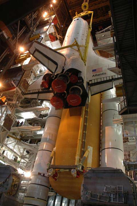 Shuttle Atlantis Set For Thursday Trek to Launch Pad