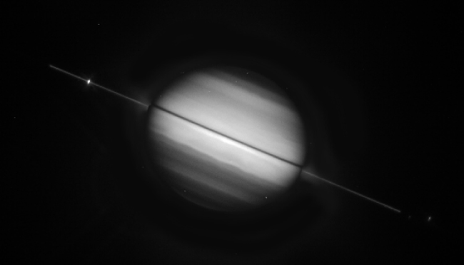 The Vanishing Rings of Saturn