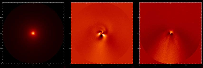 New Photos Reveal Great Comet's Spiraling Jets