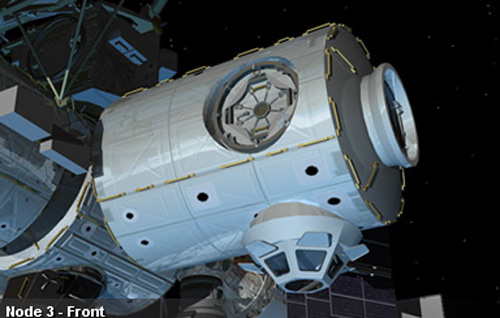 Astronauts Would Live in Space Module 'Colbert'