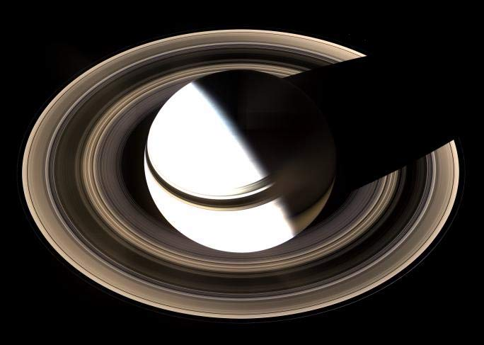 Striking New Photo and Video of Saturn's Rings