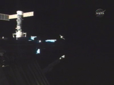 ISS Astronauts Discard Trash Ship, Prepare for Crew Swap