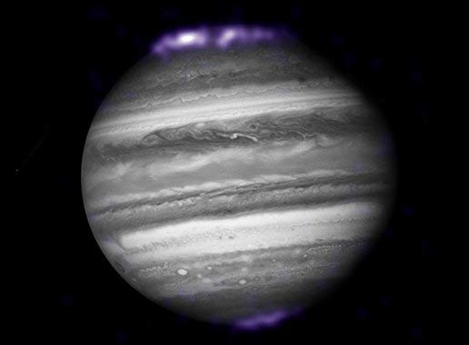 New X-ray Image Shows Jupiter's Powerful Sky Lights