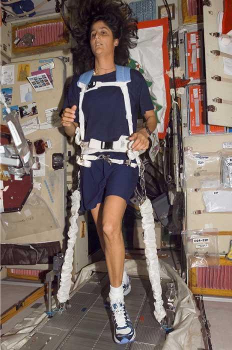 Space Station Astronaut Ready for Boston Marathon