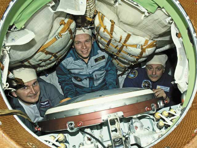 Expedition 15: Cosmonaut Crew Ready for Space Station Mission